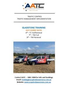AATC Courses - Gladstone 2020
